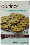 Glutino Gluten Free Pantry Chocolate Chip Cookie Mix, 19-Ounce Boxes (Pack of 6)