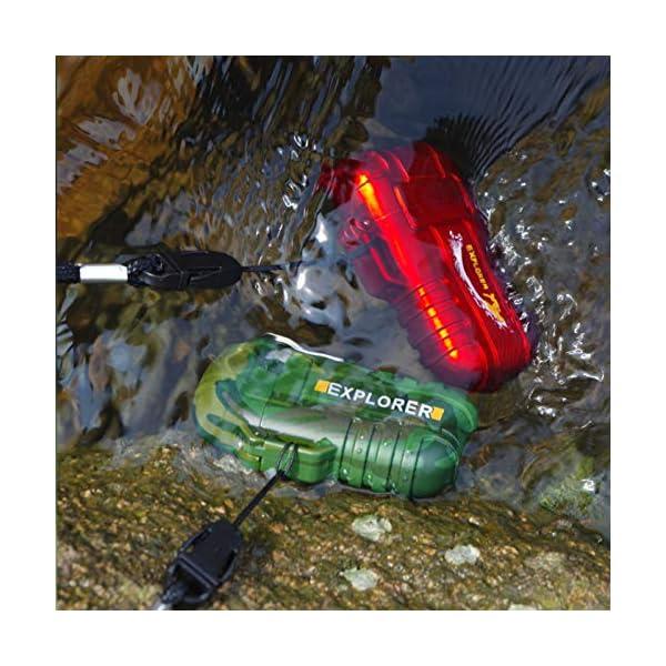 SANShine - Mechero electrónico de Doble Arco con batería de Plasma Recargable, Resistente al Viento, Impermeable y… 2