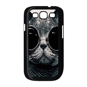 ALICASE Diy Back Case Lovely Cat For Samsung Galaxy S3 i9300 [Pattern-1]