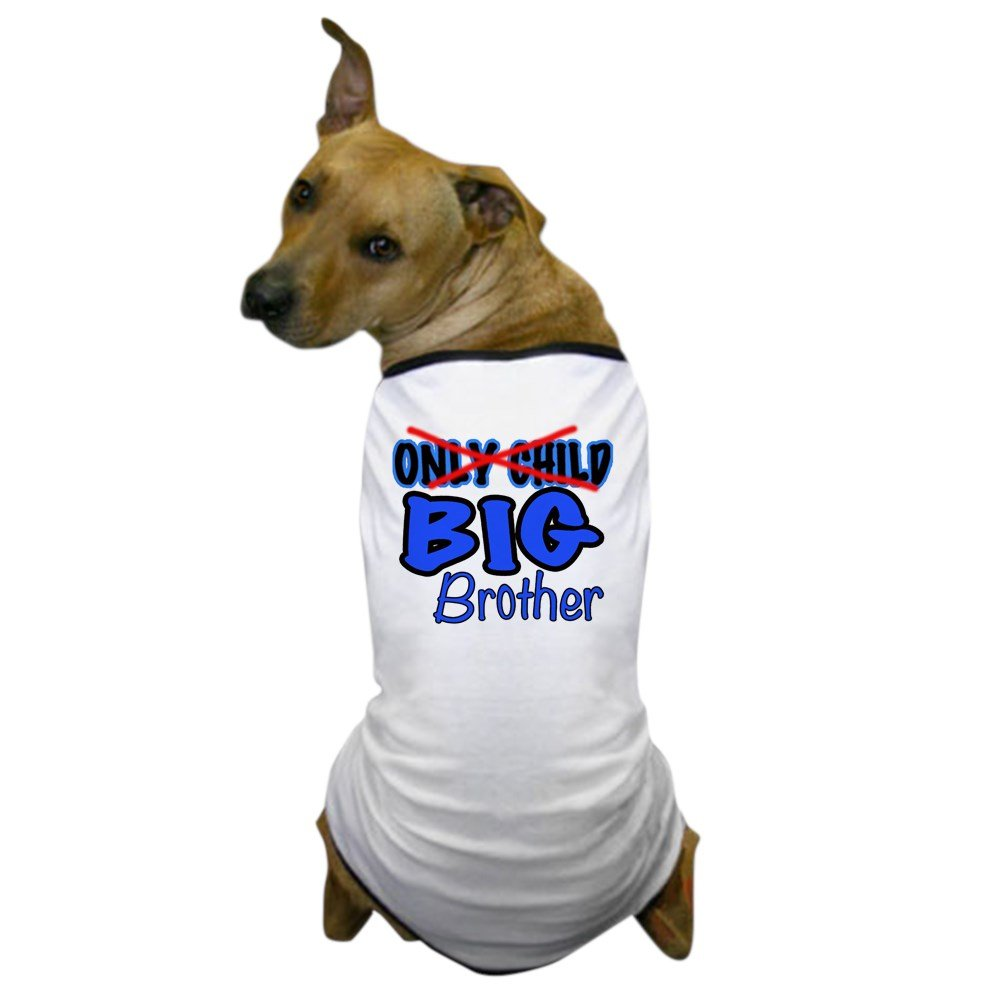 CafePress - New Big Brother Announcement Dog T-Shirt - Dog T-Shirt, Pet Clothing, Funny Dog Costume