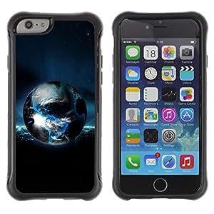 Be-Star único patrón Impacto Shock - Absorción y Anti-Arañazos Funda Carcasa Case Bumper Para Apple iPhone 6 Plus(5.5 inches)( Planet Earth )
