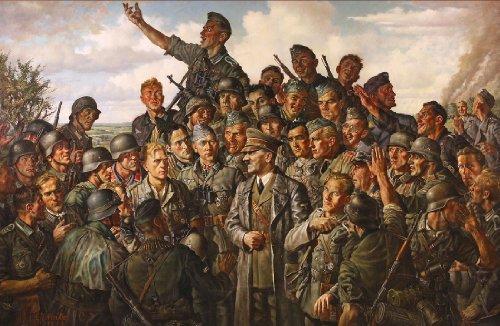 ww2 nazi German Germany poster