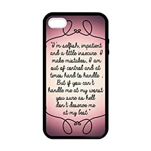 diy zhengMarilyn Monroe Quotes In Purple Case for Ipod Touch 5 5th case