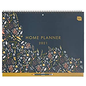 Boxclever Press Home Planner. Stunning Calendar 2021 with Generous Space. 16 Month 2021 Wall Calendar Starts Now Until…