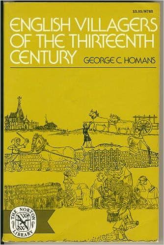Book English Villagers of the Thirteenth Century