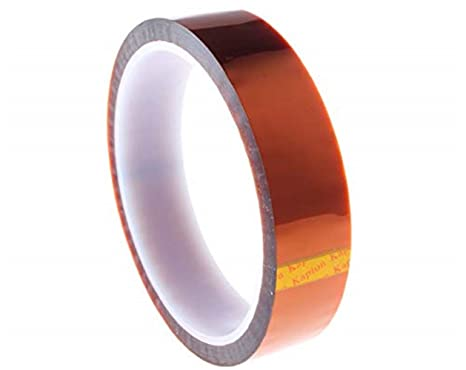 Gold Kapton Tape - 1 Mil Polyimide 25 mm (1 inch) X 100ft