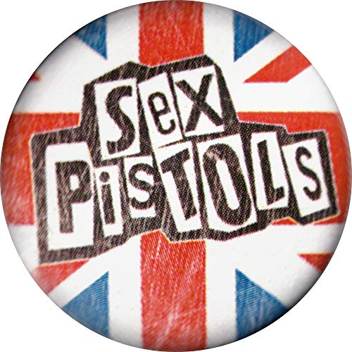 Sex Pistols - Logo On British Flag - 1