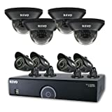 REVO America 16 Channel Home Surveillance Security System with 2TB Storage, 960H DVR, 8 100-Feet Night Vision Cameras for Indoor and Outdoor For Sale