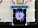 "Adafruit 1.44"" Color TFT LCD Display with MicroSD Card breakout - ST7735R [ADA2088]"