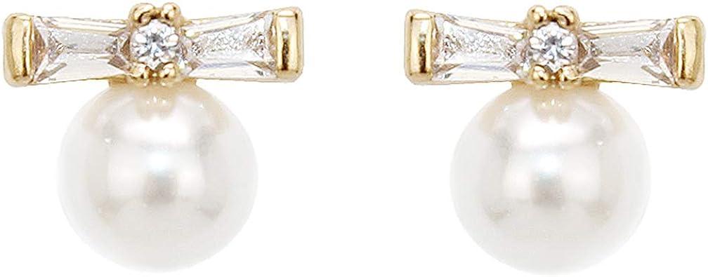 Pomina Star Studded Pearl Earrings