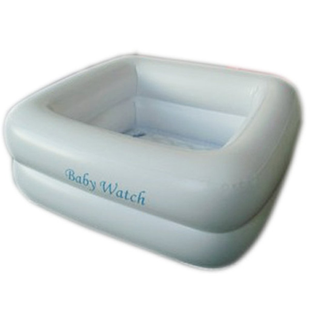 Sunhai& Two Rings Thickening Infant Infants Inflatable Swimming Pool Game Pool Bathtub Water Pump