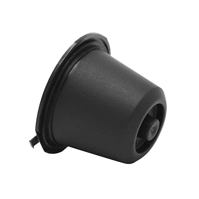 Amazon.com: FORESTIME Refillable Reusable Coffee Capsules Pods for Nespresso Machines Filter Reusable Coffee Capsule Cup (Black, a): Toys & Games