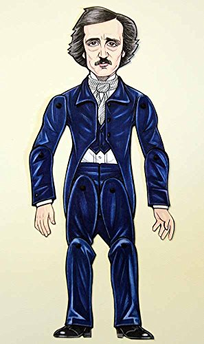 Edgar Allan Poe Articulated Paper Doll by Ardently Crafted
