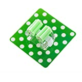 Broom Mop Holder Self Adhesive Mop and Broom Holder Wall Mounted Mop Organizer Holder Brush Broom Hanger Mop Racks Universal Kitchen Storage Tool 1PC (Green)