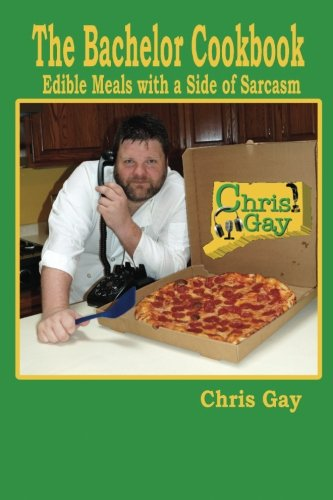 Bachelor Cookbook Edible Meals Sarcasm product image