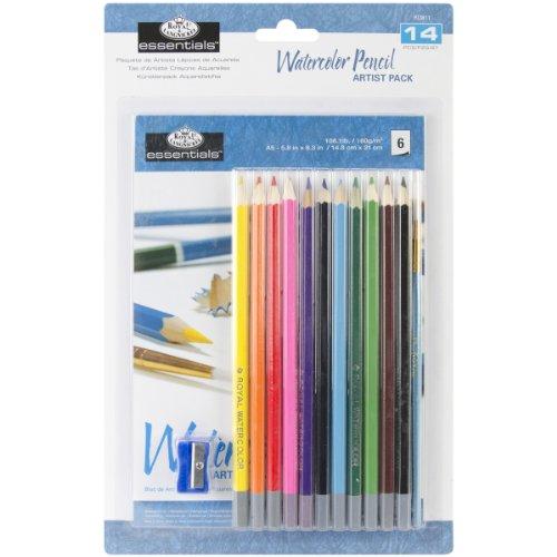 Royal & Langnickel Essentials Watercolor Pencil Set Langnickel Watercolor Pencil