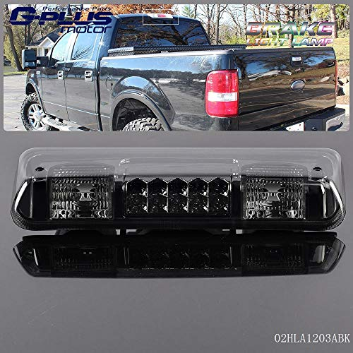 For 04-08 FORD F-150 F150 Ford Explorer Pickup Truck LED Third 3RD Brake Tail Light Lamp Black 2005 2006 2007