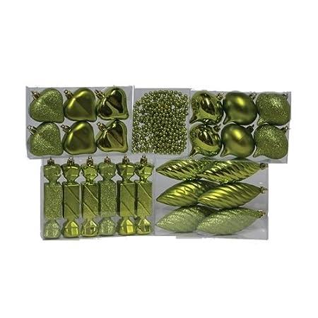 Green Fantastic Craft 25-Piece XMas Ornament Assorted Box Set