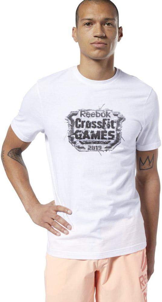 Reebok RC Distressed Crest - Camiseta Hombre: Amazon.es: Deportes y aire libre