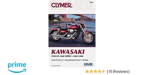 Kawasaki Vulcan 1600 Series 2003-2008 (Clymer): Penton Staff ... on