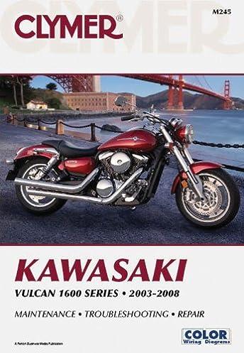 kawasaki vulcan 1600 series 2003 2008 clymer penton staff rh amazon com Kawasaki Vulcan 800 Wiring Diagram 636 Kawasaki Wire Diagram
