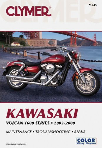 Kawasaki Vulcan 1600 Series 2003-2008 (Clymer) ()