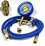 Air Conditioner Manifold Gauge Kit Single Testing Charging Air Condition & Hose Tester For Household Business Air Conditioning Units - Skroutz