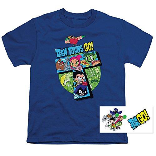 Popfunk Teen Titans Go! Youth T Shirt