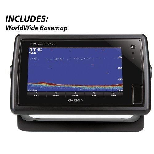 Garmin GPSMAP 721xs Chartplotter w/Sounder (010-01101-01)