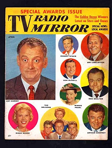 TV RADIO MIRROR v53#5 6.5 FINE 1960 ART CARNEY RED SKELTON ROBERT STACK (Red Avalon Art)