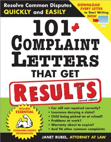 101+ Complaint Letters That Get Results: Resolve Common Disputes Quickly and Easily