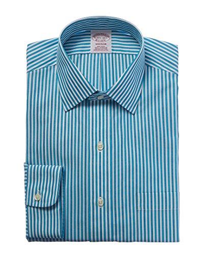Brooks Brothers Mens Madison Fit Dress Shirt, 17.5 34/35, (Brooks Mens Shirt)