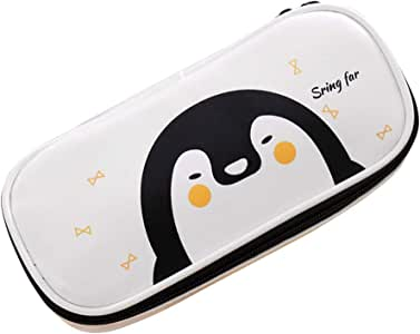 YeahiBaby - Estuche para lápices de Dibujo Animado (tamaño Grande), diseño de pingüino, Color Blanco: Amazon.es: Hogar