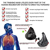 QISE Training Mask 4.0 with 8 Filters Workout Mask