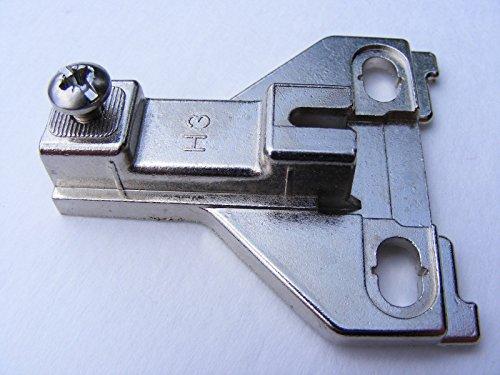 "Pm1121fe25a Ferrari 3mm H3 Cabinet Hinge Plate; Brand New!!!"""