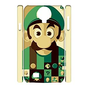 QSWHXN Cover Custom Super Mario Phone 3D Case For Samsung Galaxy S4 i9500 [Pattern-2]