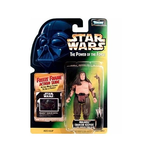 Star Wars The Power of The Force Freeze Frame Malakili (Rancor Keeper) Action Figure 3.75 Inches