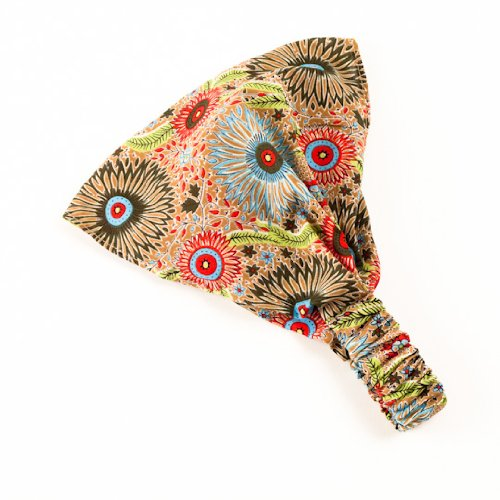 Price comparison product image Exotic Bandana Headband (Beige /Red)