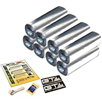 24sqft 12X36 SHEETS GTMat Pro 50mil DOOR/TRUNK KIT Automotive Car Sound Deadener Road Noise Dampener
