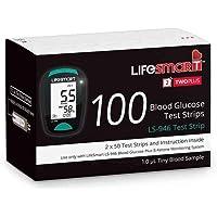 LifeSmart 2TwoPlus Blood Glucose 100 Test Strips