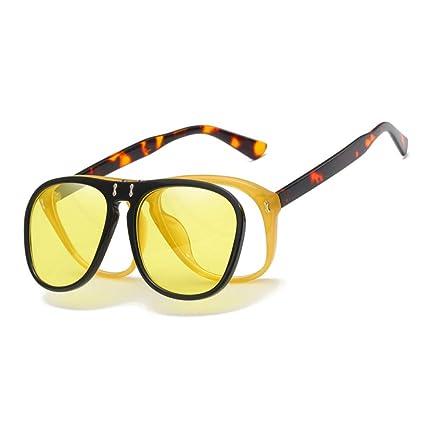 HYUHYU Flip Up Gafas De Sol Mujer Diseñador De La Marca Red ...