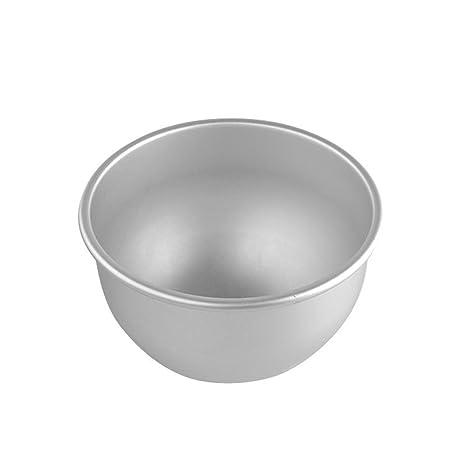 Image Unavailable Dealglad 6 Inch Aluminum Deep Semicircle Chiffon Cake Pan