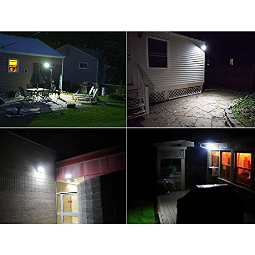Semintech Solar Flood Lights 54 LED 500 Lumens 6W Solar