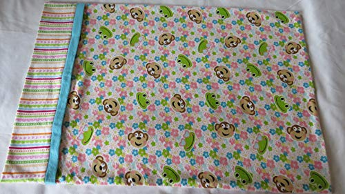 - Standard Size Pillow Cases Children's Pillow Case Monkey and Frog Pillow Case Pillow Cover Pillow Slip