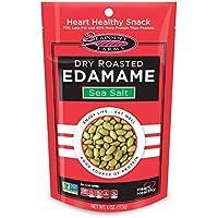 12-Pack Seapoint Farms Sea Salt Dry Roasted Edamame, 4 oz