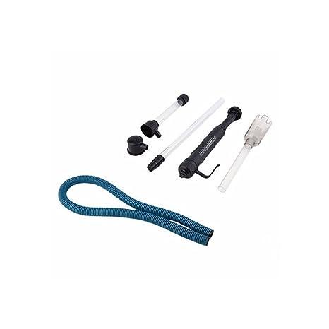 Ocama - Batería para acuario con sifón para aspiradora de peces, tanque de agua,