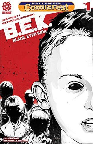 B E K - BLACK EYED KIDS #1 Halloween Comicfest, Promo, 2016, NM, AfterShock