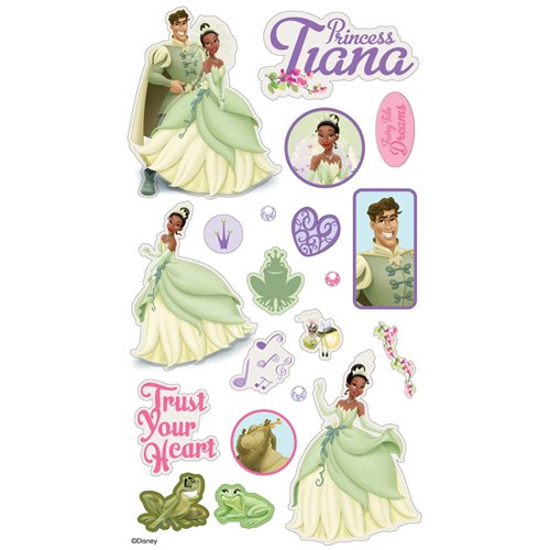 Puffy Frog (Sticko Disney Puffy Stickers: The Princess & The Frog Tiana)