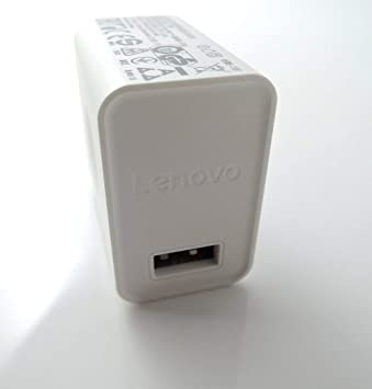 Cargador Original Lenovo C-P36 10W (5.2V 2A)  para Smartphone, Tablet, Blanco, Bulk