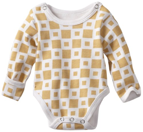 L'ovedbaby Unisex-Baby Newborn Gloved-Cuff Bodysuit